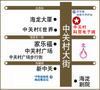 北京中关村科贸电子城交通图