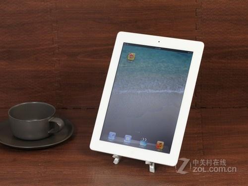 苹果 iPad4白色 正面图