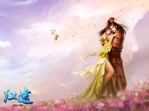 仙侠玄幻风格的原画,充满古风意蕴,让玩家找到畅游仙界的感觉!