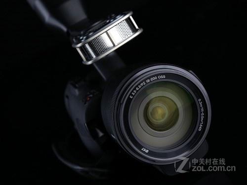 索尼 NEX-VG30EH 镜头图