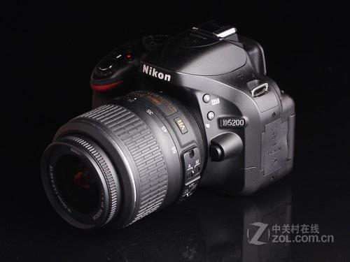 尼康 D5200黑色 外观图