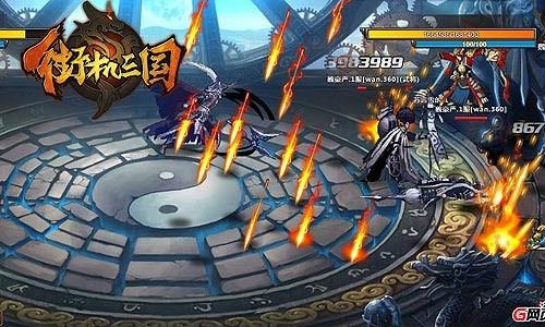跨服PK战 要玩《街机三国》决斗神殿开启在即