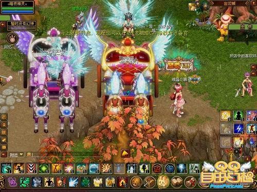 《QQ自由幻想》小龙锦囊五人坐骑神宠