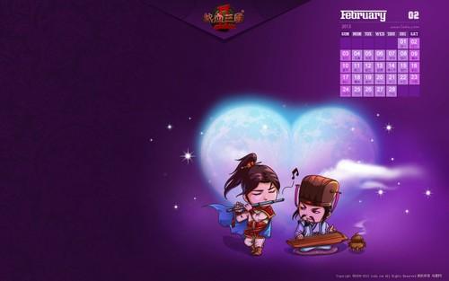 热血三国2 超萌Q版三国人物系列壁纸