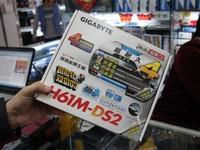 家用级主板 技嘉 GA-H61M-DS2济南促销