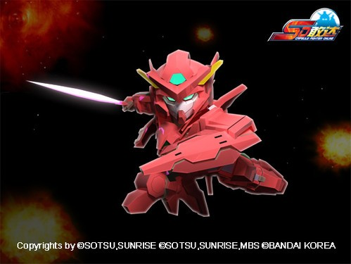《SD敢达OL》面具的女神女神敢达F2型