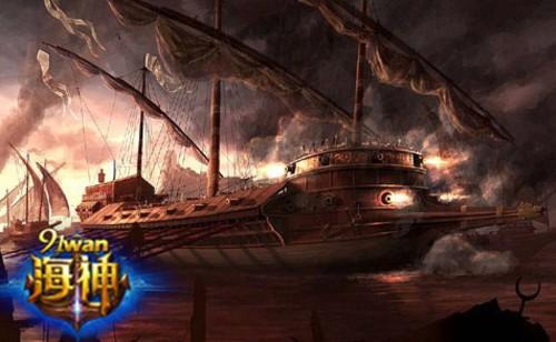 宝藏群岛首揭秘《海神》双线3服撼世开启