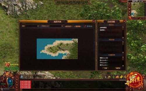 《夺宝传世》新区黄金岛打宝地图