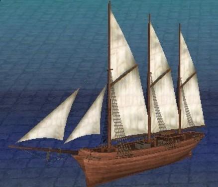 《大航海时代ol》中世纪战船仿真实力