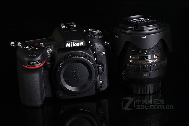 尼康D7100黑色 外观图