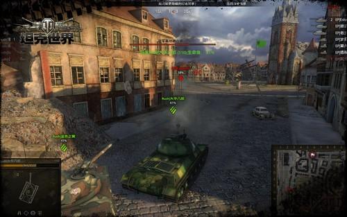 战火纷飞《坦克世界》公开赛正式开启