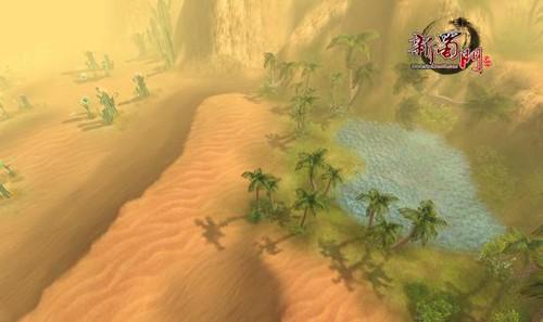 首度曝光《新蜀门》沙尘暴来袭沙城若现