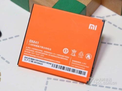 红米手机一块2000毫安时锂电池. ●红米手机参数表.