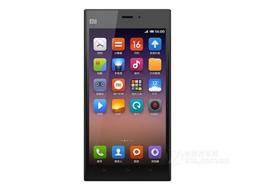 小米手机   3机身正面是一块5英寸ips显示屏并采用ogs单玻...