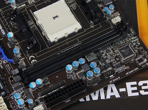 磁盘方面,微星a85xma-e35提供了6个 sata 6gb/s接口,方便了使用多个