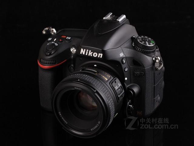 尼康 D610黑色 外观图