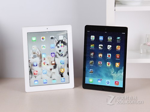 iPad Air /iPad4  外观图