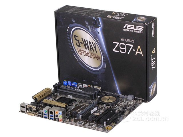 富有金属光泽 华硕Z97-A 售价881元