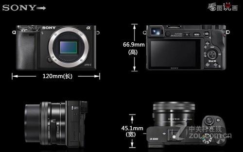 高速混合对焦系统索尼A6000售3550