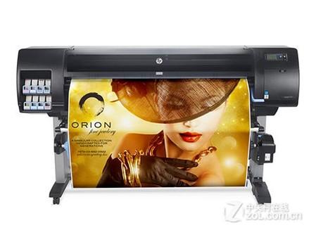 0色彩稳定性出色HP Z6800大幅面打印机