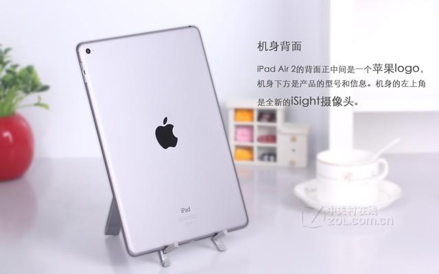 iPad Air 2深灰色 背面图