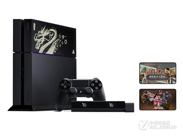 500GB版 索尼PS4套装纪念版 售价3167元
