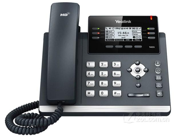 亿联SIP-T42G功能丰富商务话机特价960