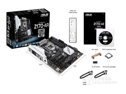 全系统优化 华硕Z170-AR主板特价1150元