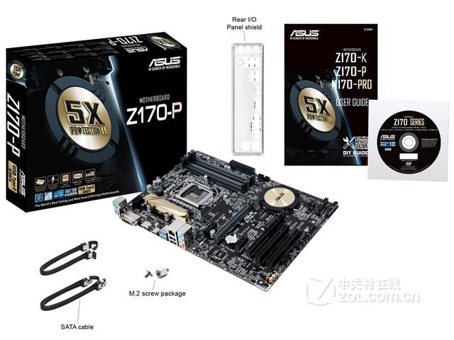 功能全面强劲 华硕Z170-P 售价1077元
