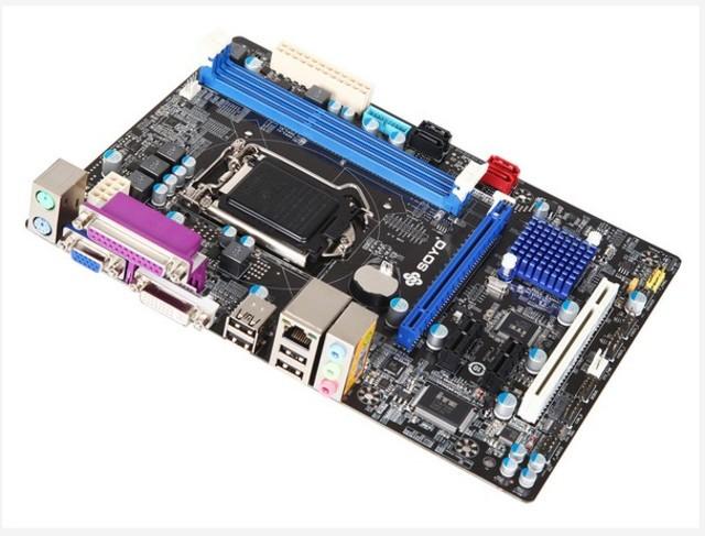 图为:梅捷SY-H91-PCP主板图赏 梅捷SY-H91-PCP主板板载符合AC97规范6声道声卡,支持硬件DVD音效,提供高品质6声道输出,可享受家庭影院般的音响效果。第二代串行ATA储存介面,Serial ATA 2.0定义的数据传输率可达3Gbps,可以获得更高的突发传输率、支持更多的特性、更加方便易用以及更具有发展潜力。千兆以太网络提供更稳定、更快速的网络传输环境,高达1000Mbps的传输速率更好的满足了高数据吞吐量的应用需求。USB3.