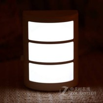 河北石家庄银之优品创意感应中国风小夜灯 节能壁灯声控光控床头灯插图片