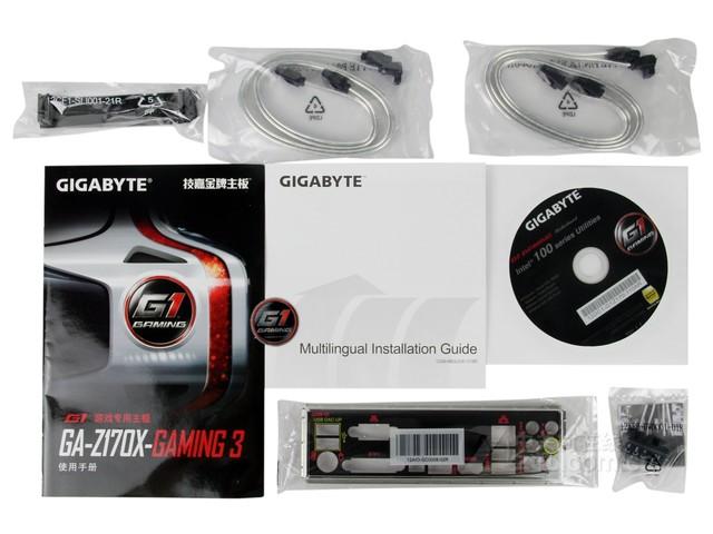 技嘉GA-Z170X-GAMING3 rev.1.0售1175元