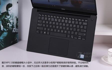 深圳IT网报道:戴尔XPS 15银色 键盘图