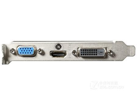 技嘉 GT710 1G D3刀卡带小挡板 仅售220元