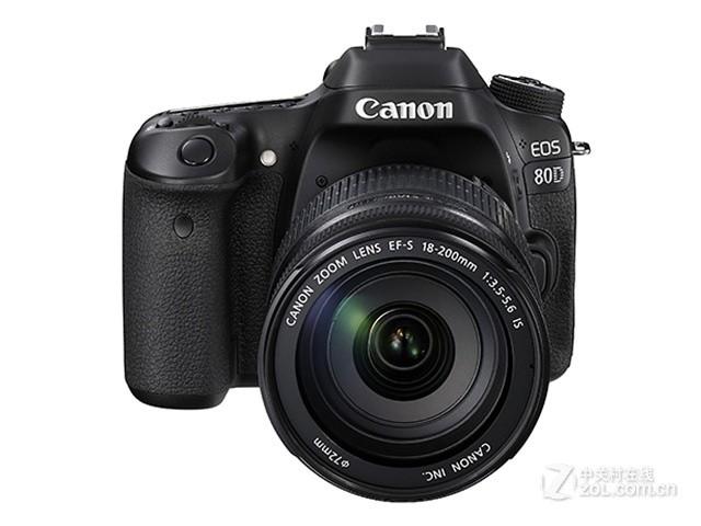 佳能80D(EF-S 18-200mm IS) 带包8199元