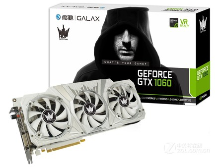 影驰GeForce GTX 1060名人堂安徽售2376