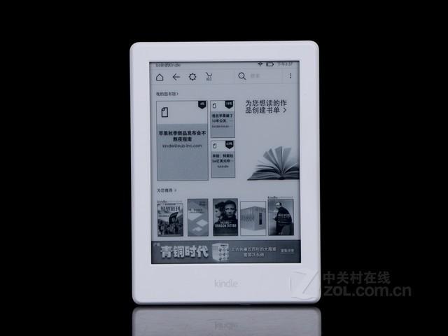 亚马逊kindle入门版558元 免费送电子书