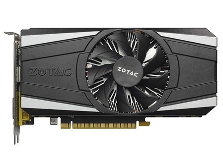 索泰GeForce GTX 1050Ti 雷霆版