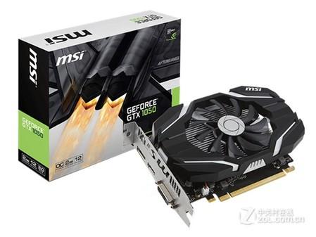 强悍显卡 微星 GeForce GTX 1050 2G OC仅729