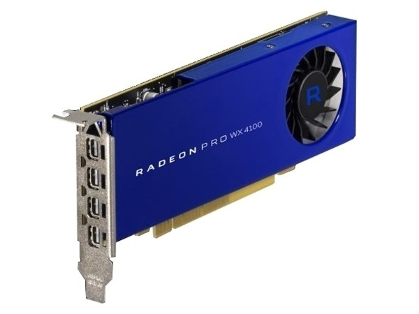AMD Radeon Pro WX 4100天津恒瑞1699元