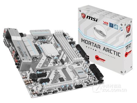 微星H270M MORTAR ARCTIC主板特价899元