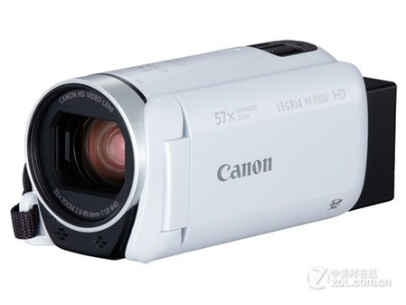高清家用摄像机银川佳能HF R806特惠