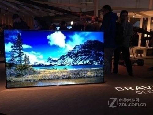 索尼KD-55A1新款OLED电视特价21999元