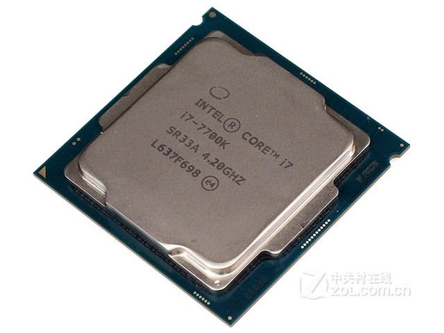 Intel 酷睿i7 7700K 安徽报价2319元