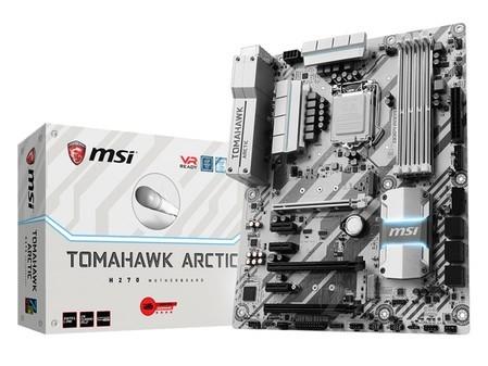 微星H270 TOMAHAWK ARCTIC主板售999元