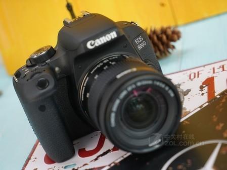 买单反相机分期付款 佳能80D泉州售6599