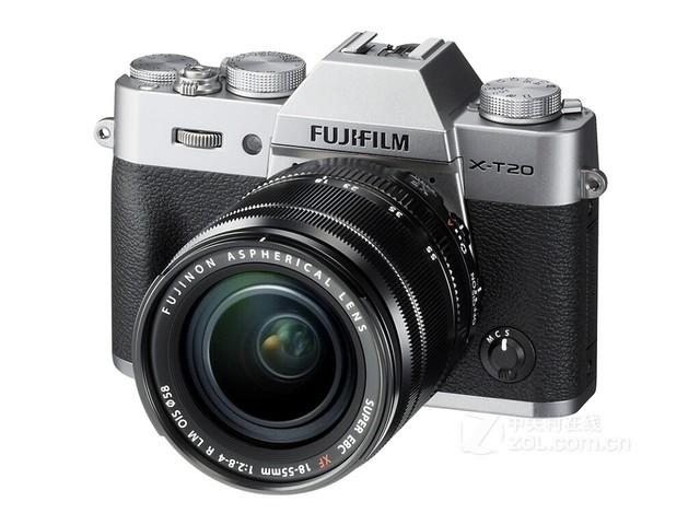 (中关村在线 济南行情)近日,富士X-T20套机(XF 18-55mm)在中关村在线推荐经销商山东尼文摄影器材专营促销,报价7499元,欢迎电话咨询购买 【联系电话:0531-82396190,0531-82396178 】。富士X-T20在机身设计上采用了轻便小巧的设计,而且价格更亲民,外观也更好看。  图为:富士X-T20套机(XF 18-55mm) 本质上来说,富士X-T20和X-T2基本是同源的,说它是X-T2的简化版本也毫不为过。X-T2代表了专业设计,外观采用了黑色,体积和重量也要大于X-T2