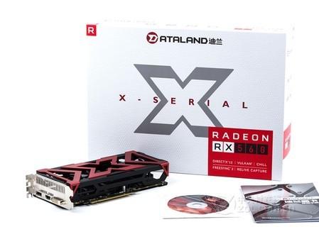 主流游戏显卡 迪兰RX560战神福州售999