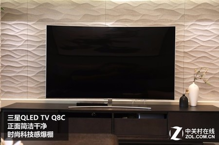 0全金属机身 三星75英寸电视75Q8C银川售