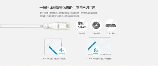 萤石互联网录像机N1P 扫二维码送优惠券